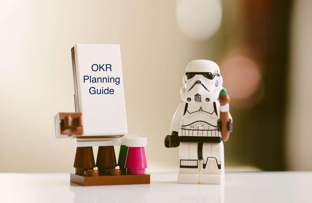 Rapportering i et OKR kvartalsmøte